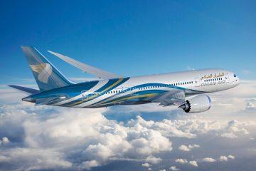 Oman Air publishing an article on Bondoni